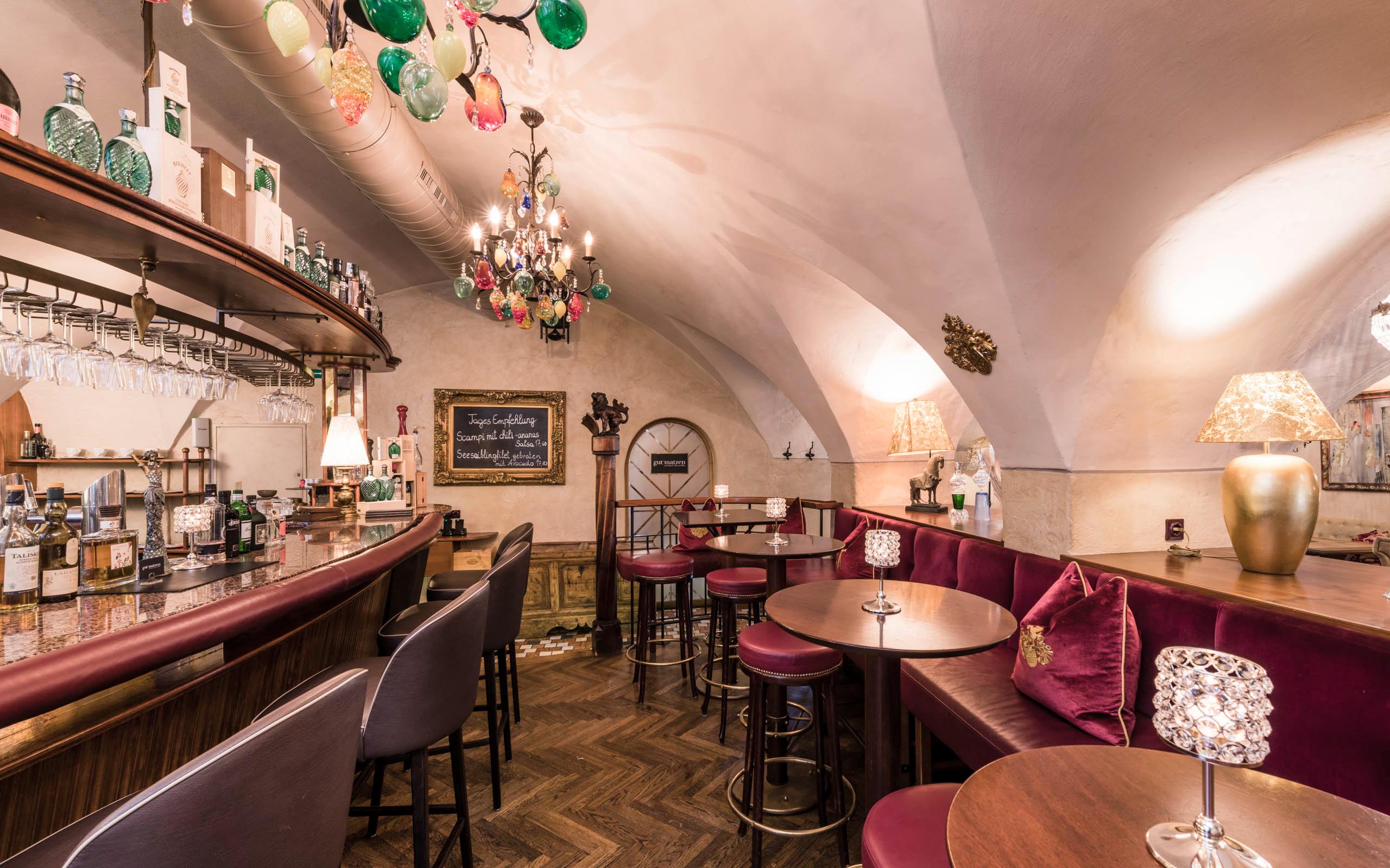 Gemütliches Ambiente in der Bar